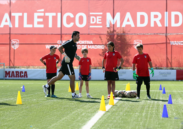 Official Atlético de Madrid Academy Coaches